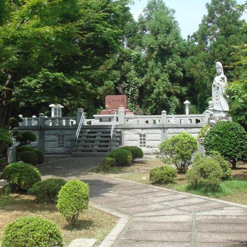 """永代供養墓""""倶会一処墓"""" 移行後は当寺が永久に供養してまいります。"""